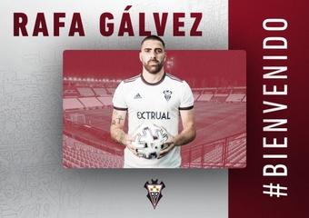 Gálvez ha firmado hasta el 30 de junio de 2023. AlbaceteBalompié