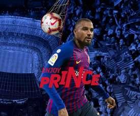 K-P Boateng jugará hasta final de temporada, como mínimo, en el Barça. FCBarcelona