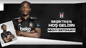 Batshuayi jugará en la 21-22 en la Liga Turca. BJK