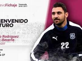 Imagen con la que el Cartagena dio la bienvenida a Arturo Rodríguez. FutbolClubCartagena