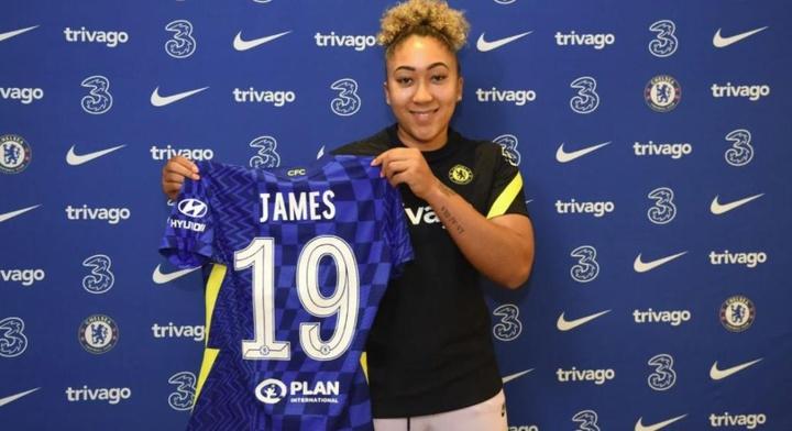 Lauren James ha firmado hasta 2025. ChelseaFC