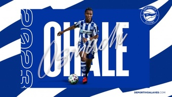 Osinachi Ohale ha firmado hasta 2023. DeportivoAlavés