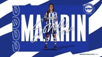 Sonia García jugará cedida en el Alavés en la 21-22. DeportivoAlavés