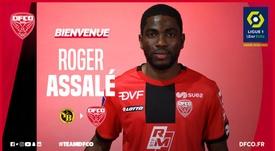 Assalé jugará en la Ligue 1 el próximo curso. DFCO