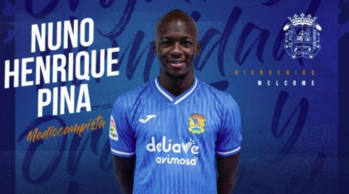 El portugués ha firmado hasta 2024. CFFuenlabrada