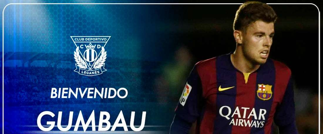 Gumbau jouera pour Leganés la saison prochaine. Twitter/CDLeganes