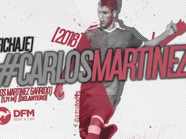 Carlos Martínez ha cambiado Lorca por Murcia. RealMurcia