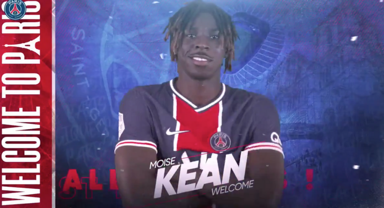 Psg Confirms An Unexpected Signing Moise Kean Besoccer