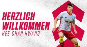 Hee-Chan é oficialmente do RB Leipzig. DieRotenBullen