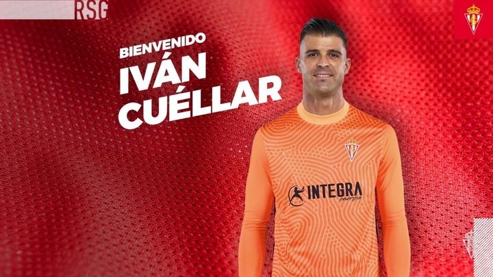 Cuéllar volverá al Sporting a sus 37 años. RealSporting