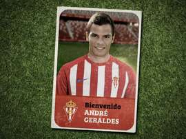 André Geraldes firmó con el Sporting. Twitter/RealSporting