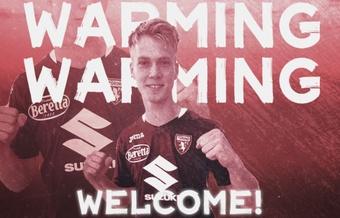 Magnus Warming signe au Torino jusqu'en 2024. TorinoFC