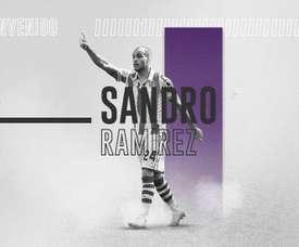 Sandro rejoint le Real Valladolid sous forme de prêt. Twitter/realvalladolid