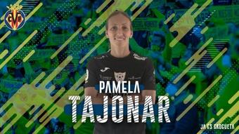 Pamela Tajonar jugó en el Barcelona entre 2018 y 2020. VillarrealCF