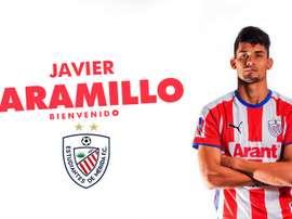 Jaramillo ya es rojiblanco. EstudiantesDeMeridaFC