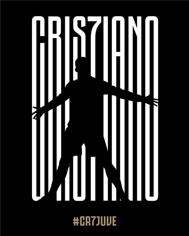 Cristiano Ronaldo ya es jugador de la Juventus. AFP
