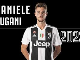 Rugani, de la Juve hasta 2023. Twitter/JuventusFC