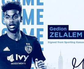 Gedion Zelalem moves from Sporting KC to New York City. NYCFC