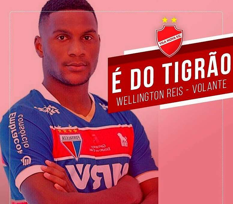 El club brasileño anunció el fichaje en Twitter. Twitter/VilaNovaCF