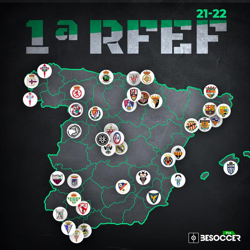 Estos son los 40 equipos que jugarán en la Primera RFEF