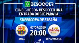 Consigue una entrada doble para el Barça-El Pozo Murcia de la Supercopa de España. BeSoccer