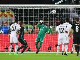 Khalifa Mubarak disputó el partido ante el Real Madrid. EFE/Archivo