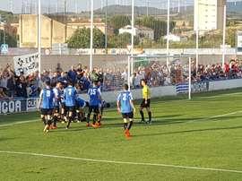 El Peña Sport derrotó por 3-1 al Náxara. PeñaSport