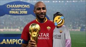 N'Zonzi, nuovo giocatore della Roma. Twitter/ASRomaEN