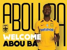 Abou Ba quitte Nantes pour le championnat grecque. Twitter/ArisFC