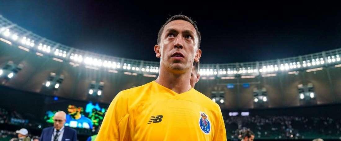 Marchesín é o melhor goleiro da Liga Portuguesa. Twitter/Porto