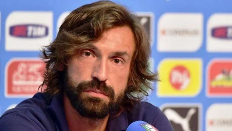 Pirlo wrote his first message as Juventus coach. AFP
