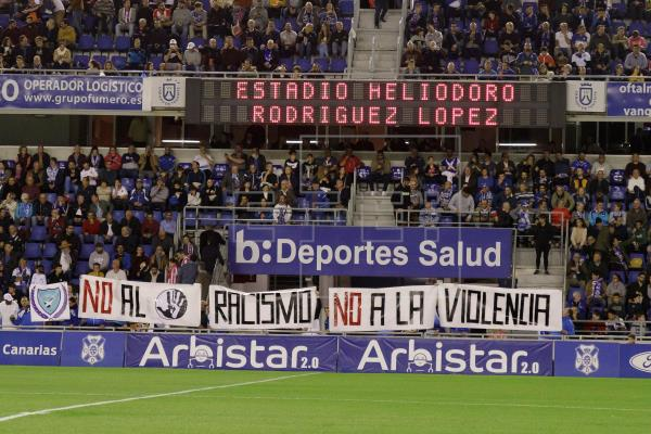 El Espanyol lleva sin ganar en el Heliodoro desde septiembre de 1995. EFE/Ramón de la Rocha