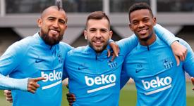 Semedo e Alba estão mais perto de voltar. FCBarcelona
