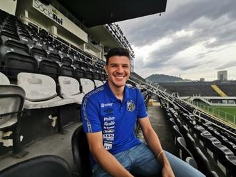 Le Real prête Augusto Galván à Santos. Twitter/SantosFC
