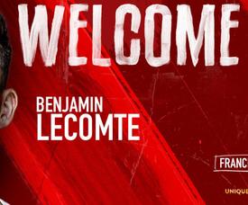 Lecomte, nuevo jugador del Mónaco. Twitter/AS_Monaco