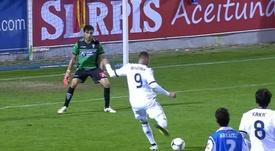 Benzema anotó un doblete al Alcoyano. Youtube/LaLiga