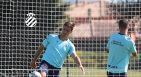 Bernardo, de los pocos que han pasado del Girona al Espanyol. RCDEspanyol