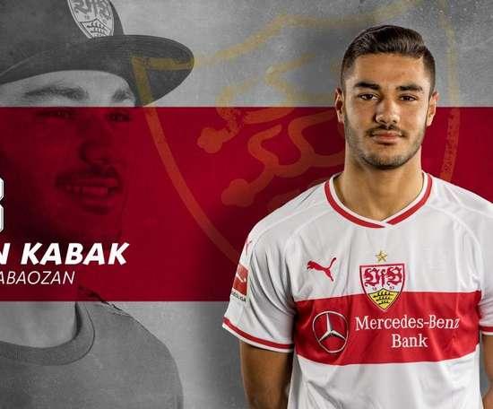 Ozan Kabak rejoint Stuttgart. Twitter/VfB