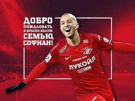 Spartak sign Algerian Hanni from Anderlecht. SpartakMoscow