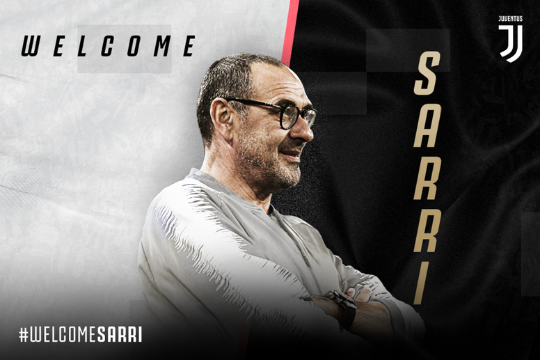 Maurizio Sarri has been officially appointed as Juventus manager. JuventusFC