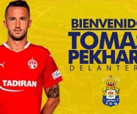 Pekhart se formó en la cantera del Tottenham. UDLasPalmas