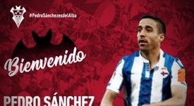 Pedro Sánchez ya es nuevo jugador del Albacete. LaLiga