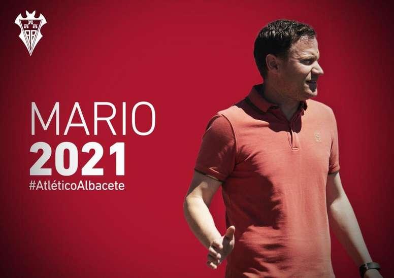 Mario Simón dirigirá el club hasta 2021. AlbaceteBalompié