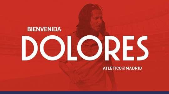 Dolores es el segundo fichaje del conjunto rojiblanco. AtléticodeMadrid