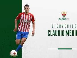 Claudio Medina confía en dar el salto de calidad. ElcheCF