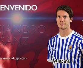 Alejandro Sanz ha firmado hasta junio de 2019. Numancia
