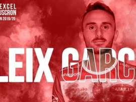 Aleix Garcia part en prêt en Belgique. Twitter/ExcelMouscron