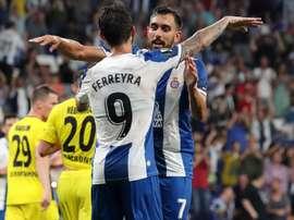 Borja Iglesias a repoussé la prolongation pour signer au Bétis. Twitter/RCDEspanyol