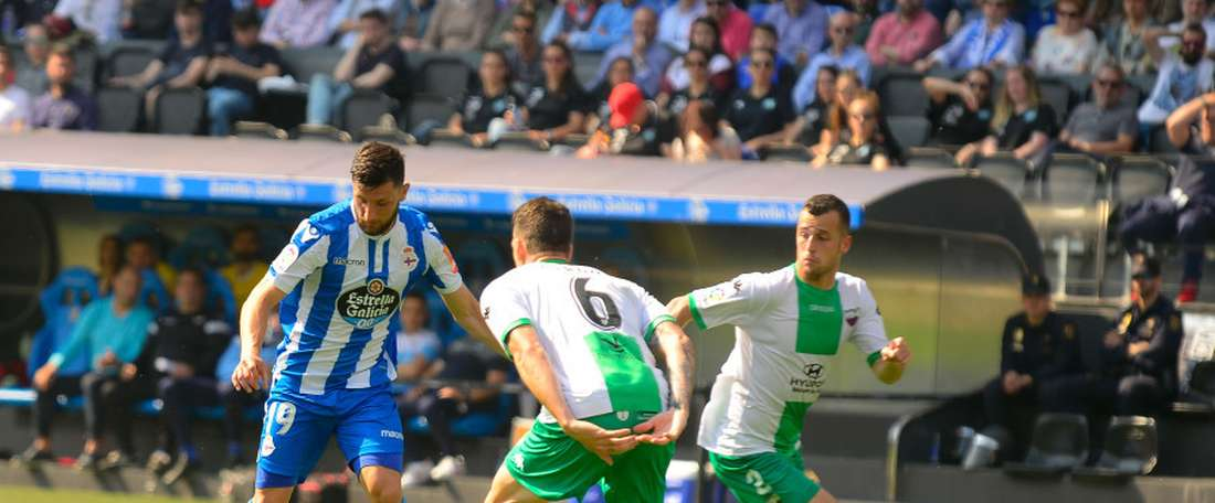Borja Valle s'entraîne désormais au même rythme que ses coéquipiers. LaLiga