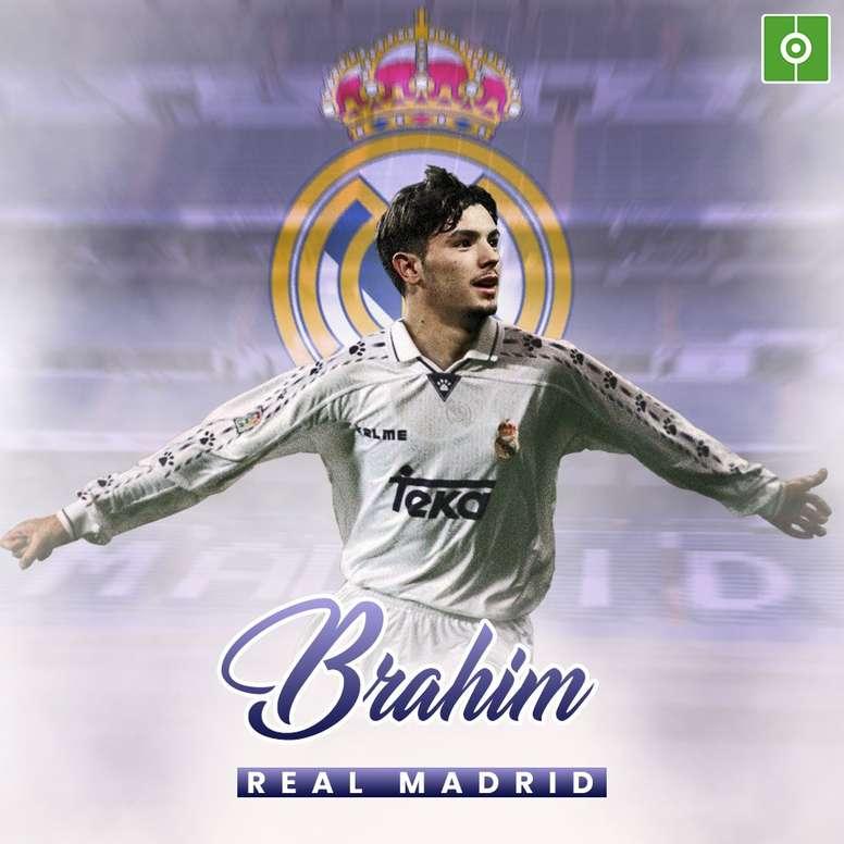Brahim Díaz, nouveau joueur du Real Madrid. BeSoccer